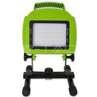 Прожектор LED V-Tac с аккумулятором — 20W White Body SMD 4000K VT-4822