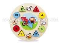 """Color Baby  42141 Игрушка деревянная """"Часы"""""""