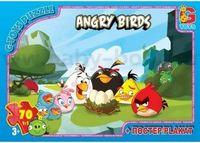 "Strateg Leo 200-2 Паззлы ""Angry Birds "" (104 дет.)"