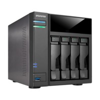 "ASUSTOR AS6104T, 3.5"" or 2.5"" SATA3 CPU 2.16GHz Ram 2GB USB3.0"