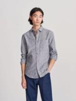 Рубашка RESERVED Серый