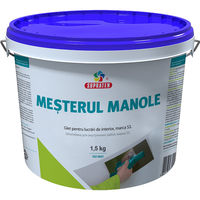 Шпаклевка для внутренних работ  Мастер Маноле 1.5кг. 370001