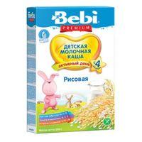 Bebi Premium каша риcовая молочная, 4+мес. 250г
