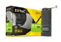 ZOTAC GeForce GT 1030 Zone Edition 2GB DDR5, 64bit, 1468/6000Mhz, Passive Heatsink, HDCP, DVI, HDMI, Low-profile bracket included, Lite Pack