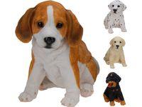 Собака декоративная разных пород H23cm, 20X14cm