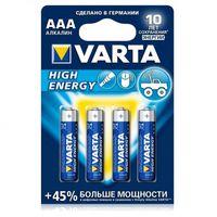 AAA/Micro High Energy alcalina/бл-2 бат. VARTA