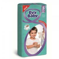 Evy Baby подгузники Jumbo 5, 12-25кг. 48шт