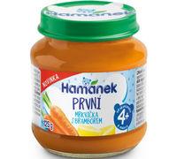 Пюре Hamanek морковь и картофель с 4 месяцев, 125г