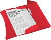 Esselte Папка на резинке ESSELTE Vivida А4 пластиковая, красная
