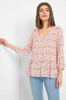 Блуза ORSAY Принт цветочек 665059 orsay