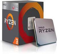 Процессор AMD Ryzen 3 3100 (3,6–3,9 ГГц, 4C / 8T, L2 2 МБ, L3 16 МБ, 7-нм, 65 Вт), Socket AM4, лоток