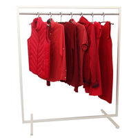 cumpără Cuier pentru îmbrăcăminte din oţel, 1200x600x1400mm (9001) în Chișinău