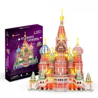3D PUZZLE St. Basil's Cathedral LED