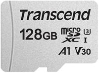 Сard de memorie Transcend MicroSD 128Gb Class 10 UHS-I (TS128GUSD300S)