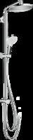 Crometta S Showerpipe 240 1jet EcoSmart 9 l/min Reno