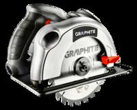 Дисковая пила Graphite 58G488 +case