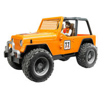 Mașină de curse Jeep Cross Country, portocalie, cu șofer, cod 43245