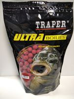 Ultra Boilies EXPERT Traper Клубника 16мм 1кг