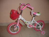 Велосипед VL-163 pink+white