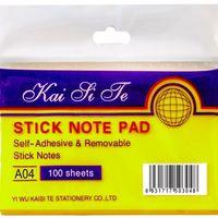 Notes adeziv plastic 102*76mm