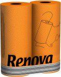 Renova Туалетная бумага  Оранжевая ( 6)