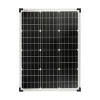 Panou solar monocristalin 50 W cu regulator de încărcare