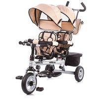 Chipolino Tрехколесный велосипед для близнецов
