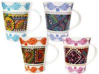 купить Чашка конус с бронзовым орнаментом 350ml в Кишинёве