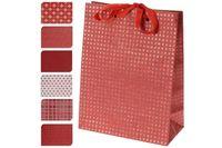 """Пакет подарочный """"красный"""" 16X11.5X6cm"""