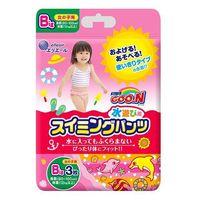 Трусики для плаванья Goon XL (12-17 кг) для девочек 3 шт