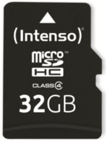 Сard de memorie Intenso MicroSD 32 GB Class 4