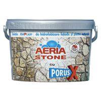 Грунтовка AERIA STONE с PORUS X средство для гидрозащиты фассадов и натуральных камней 3л