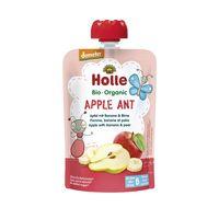 Piure de mere, banane și pere Holle Bio Organic Aplle Ant (6 luni+), 100g