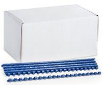 ARGO Пружина пластиковая ARGO A4/8мм, 100 штук, синяя