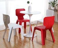 cumpără Scaun din plastic pentru copii, 420x400x330 mm, roșu în Chișinău