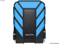 """2.0TB (USB3.1) 2.5"""" ADATA HD710 Pro Water/Dustproof External Hard Drive, Blue (AHD710P-2TU31-CBL)"""
