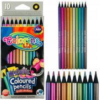 Цветные карандаши металические 10 шт. Colorino