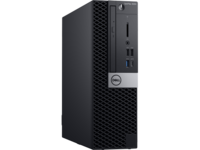 DELL OptiPlex 5060 SFF lnteI® Core® i5-8500, 8GB DDR4 RAM, 256GB SSD, DVD-RW, lnteI® UHD630 Graphics, TPM, No WiFi, 260W PSU, USB mouse, USB KB216-B, Win10Pro, Black