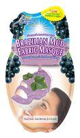 Питательная маска для лица из Бразильской Красной Глины с маслом Авокадо, 24гр