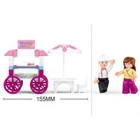 КОНСТРУКТОР GIRL*S DREAM FOOD CARRIAGE В0522