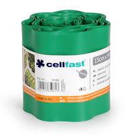 Бордюр огородно-газон. 15см х 9м  (зел.) Cellfast