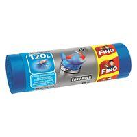 Fino Пакеты для мусора с затяжками 120 л, 15 шт.