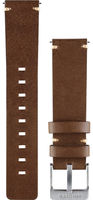 Garmin Vivomove Watch Band Leather Dark Brown