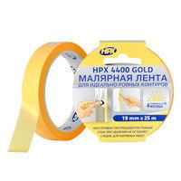 """HPX 4400 Лента малярная  (25mm*25m)  """"Золотая"""" УФ-стабильная + 100 С"""