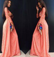 Платье Savanna персиковое