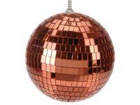 """Шар елочный зеркальный """"Disco"""" 150mm медный цвет"""