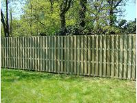 Деревянный забор LUCINA 180