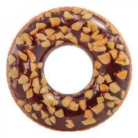INTEX 56262 надувной круг шоколадн.пончик 114см.9+