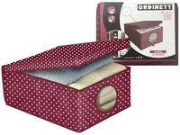Коробка для хранения Bordeaux 48X36X19cm с крышкой, тканевая