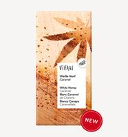 Ciocolată albă cu cînepă caramelizată Vivani bio 80g